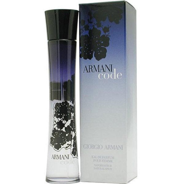 Shop Giorgio Armani Code Women s 1.7-ounce Eau de Parfum Spray ... 2abdf66bd553