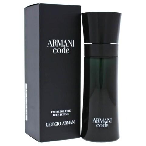 Armani Code Men's 2.5-ounce Eau de Toilette Spray