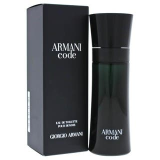 Armani Code Men's 2.5-ounce Eau de Toilette Spray|https://ak1.ostkcdn.com/images/products/4295573/P12274924.jpg?impolicy=medium