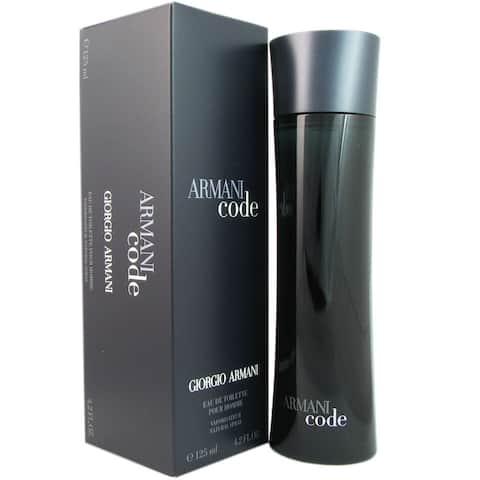 Armani Code Men's 4.2-ounce Eau de Toilette Spray