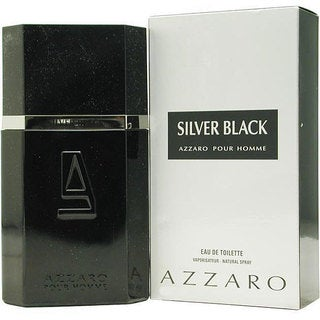 Azzaro Silver Black Men's 1.7-ounce Eau de Toilette Spray