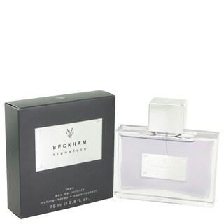 Beckham Signature Men's 2.5-ounce Eau de Toilette Spray