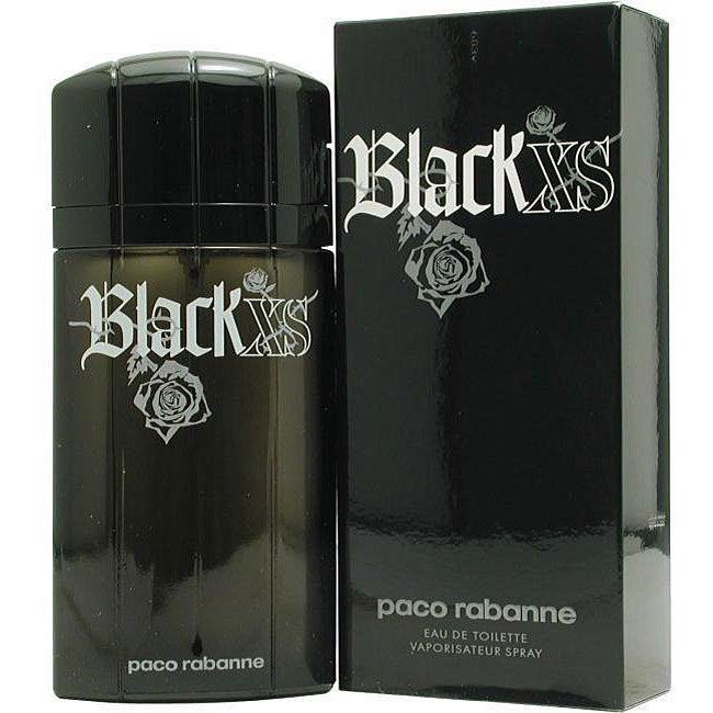 Paco Rabanne Black Xs Men's 1.7-ounce Eau de Toilette Spr...