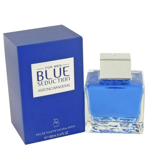 Antonio Banderas Blue Seduction Men's 3.4-ounce Eau de Toilette Spray