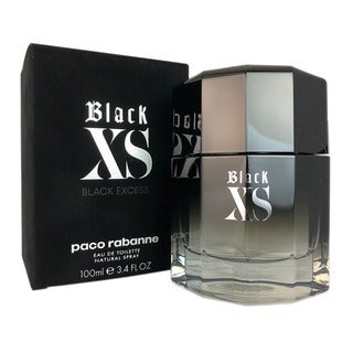 Paco Rabanne Black Xs Men's 3.4-ounce Eau de Toilette Spray