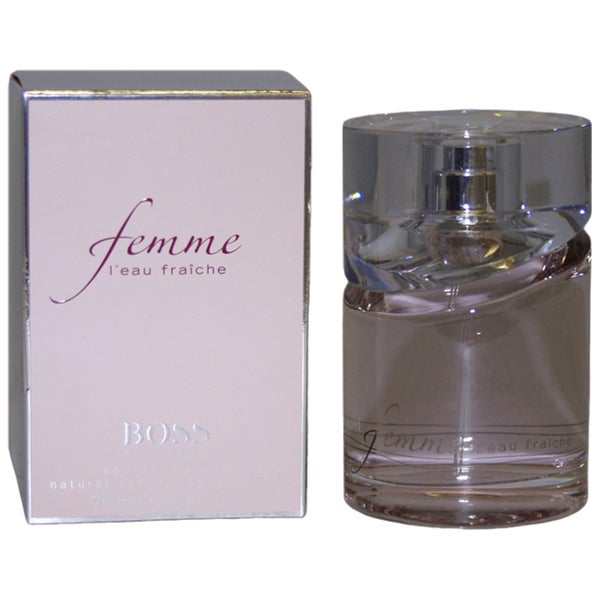 abd6fd08890 Shop Boss Femme Leau Fraiche Women s 2.5-ounce Eau de Toilette Spray - Free  Shipping Today - Overstock - 4295773