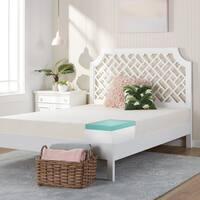 Comfort Dreams Select-A-Firmness 9-inch Cal King-size Memory Foam Mattress - White
