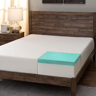 Comfort Dreams Select-A-Firmness 9-inch Queen-size Memory Foam Mattress
