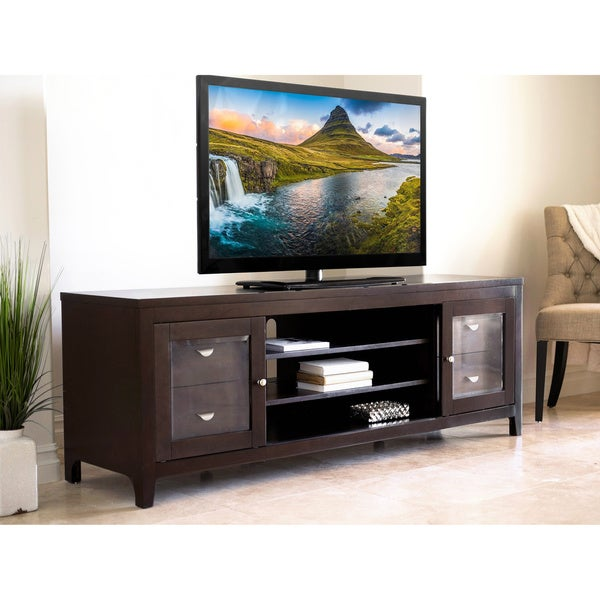 unusual solid wood media cabinet. Abbyson Clarkston Solid Wood 72 inch TV Console  Free Shipping