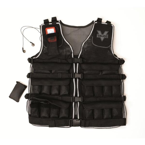 Valeo VA4480BK 20-pound Weighted Vest