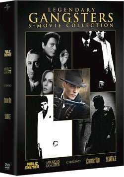 Legendary Gangsters: 5-Movie Collection (DVD)