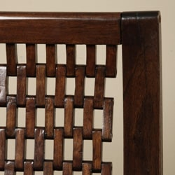 Hand-woven Wooden Arm Chair (Indonesia) - Thumbnail 1