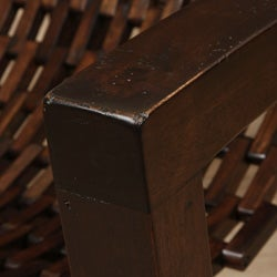 Hand-woven Wooden Arm Chair (Indonesia) - Thumbnail 2
