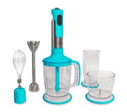 Shop Wolfgang Puck Blue Stainless Steel Immersion Blender