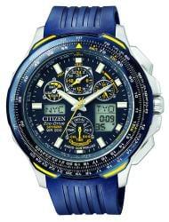 Citizen Men's Eco-Drive 'Blue Angels SkyHawk' Chronograph Watch - Thumbnail 1