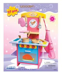 Parkfield Deluxe Wooden Kitchen Playset - Thumbnail 1