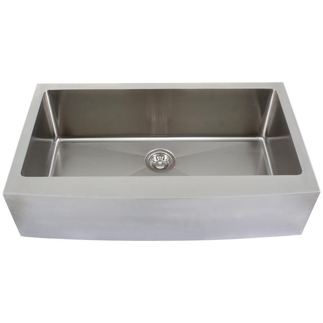 36 undermount kitchen sink shop ticor 36 inch 16 stainless steel curved front 3884