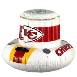 Kansas City Chiefs Floating Cooler - Thumbnail 1