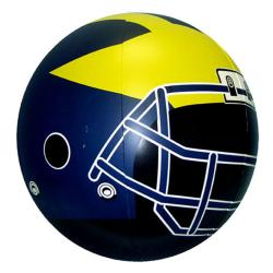 University of Michigan Officially Licensed NFL Beach Ball - Thumbnail 2
