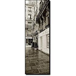 Preston 'Hotel in Paris' Ready-to-hang Canvas Art