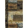 Artist's Loom Hand-tufted Contemporary Geometric Wool Rug (9'x13')