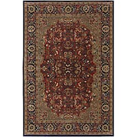 Artist's Loom Hand-tufted Traditional Oriental Wool Rug (7'9 Round) - 7'9