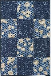 Artist's Loom Indoor/Outdoor Contemporary Geometric Rug (7'9 x 11'2) - Thumbnail 1
