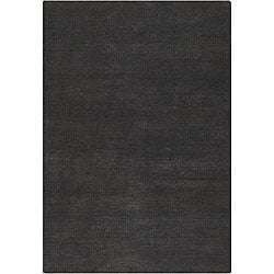 """Artist's Loom Hand-tufted Contemporary Solid Wool Rug - 5' x 7'6"""" - Thumbnail 0"""