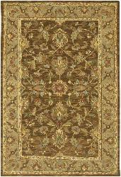 Artist's Loom Hand-knotted Traditional Oriental Wool Rug (5'x7'6) - Thumbnail 1