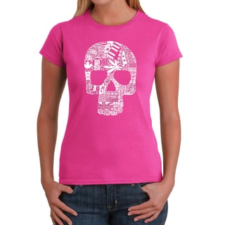 Los Angeles Pop Art Women's Sex, Drugs and Rock and Roll T-shirt
