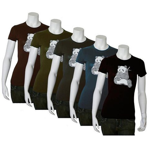 Los Angeles Pop Art Women's Endangered Species T-shirt