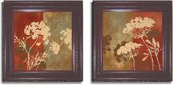 Lanie Loreth 'Among the Flowers' Framed Canvas 2-piece Art Set