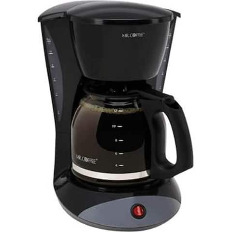 Mr. Coffee Simple Brew 12-Cup Coffee Maker