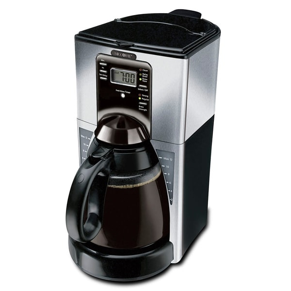 Mr. Coffee 12-cup Performance Brew Programmable Coffee Maker