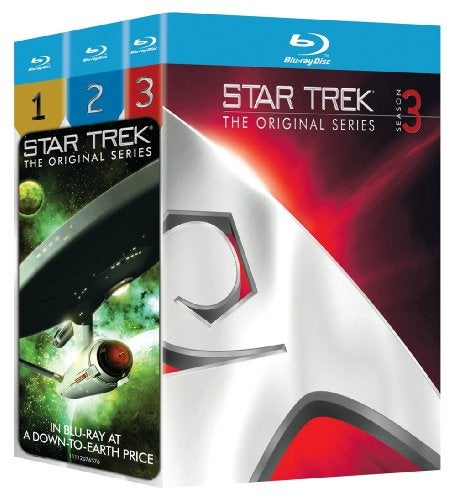 Star Trek: The Original Series: Three Season Pack (Blu-ray Disc) - Thumbnail 0