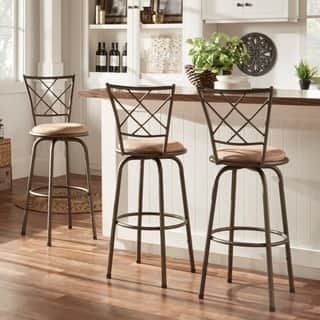 Adjustable Swivel High Back Kitchen Stools (Set of 3)|https://ak1.ostkcdn.com/images/products/4302142/P12280142.jpg?impolicy=medium