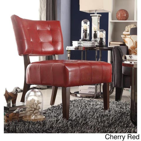 Buy Accent Chairs, Red Living Room Chairs Online at Overstock   Our ...