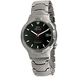 Gino Franco Men's Marina Stainless-Steel Quartz Miyota Watch