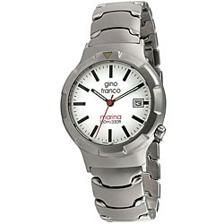 Gino Franco Men's Marina Stainless Steel Watch