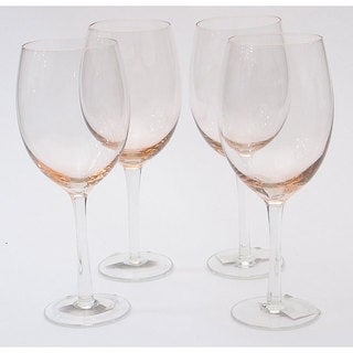 Certified International Pink 20-oz White Wine Glasses (Set of 8)