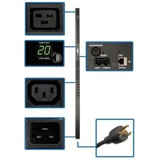 Tripp Lite PDU Monitored 208V-240V 20A 20 C13; 4 C19 Outlet Vertical