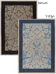 Artist's Loom Indoor/Outdoor Transitional Floral Rug (3'9 x 5'9) - Thumbnail 1