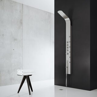 VIGO Brielle Shower Panel System with Rain Shower Head