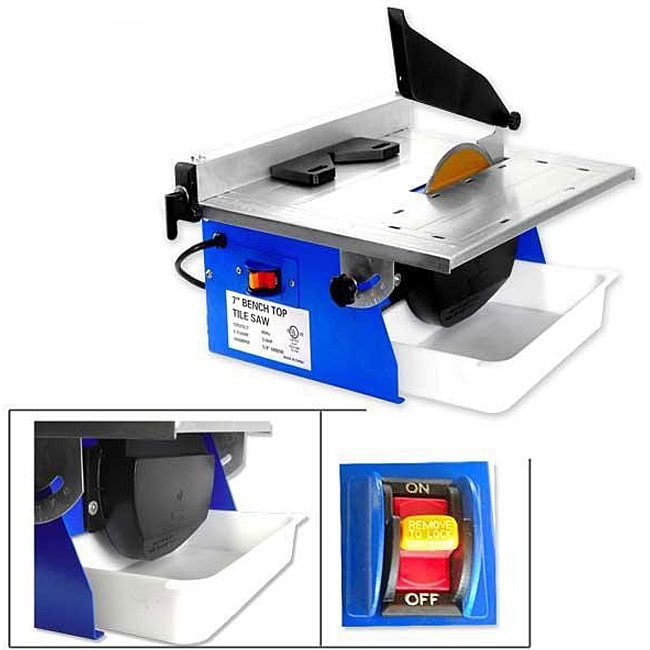 Electric 7-inch Wet Tile Table Saw