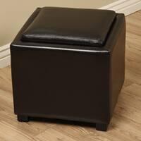 Ryan Faux Leather Storage Seat