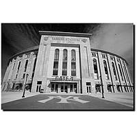 Yale Gurney 'The Stadium' Canvas Art