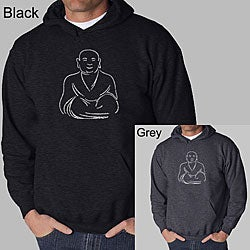 Los Angeles Pop Art Men's Buddha Hoodie