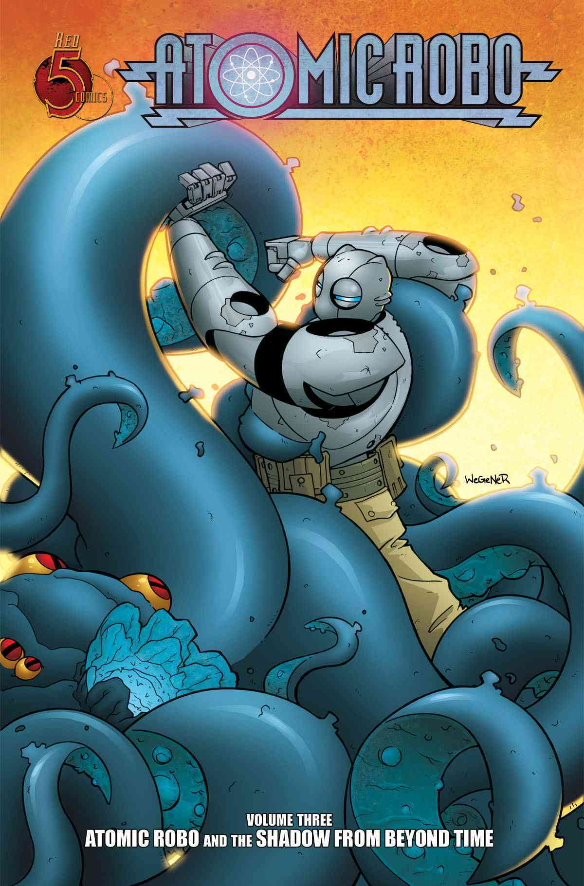 Atomic Robo 3: Atomic Robo and the Shadow from Beyond Time (Paperback)