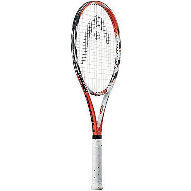Head MicroGel Radical Oversize Tennis Racquet (4.5), White