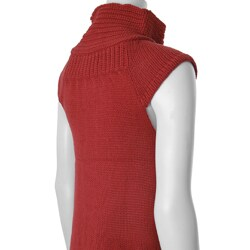 CiSono by Adi Juniors Cap Sleeve Knit Sweater - Thumbnail 2